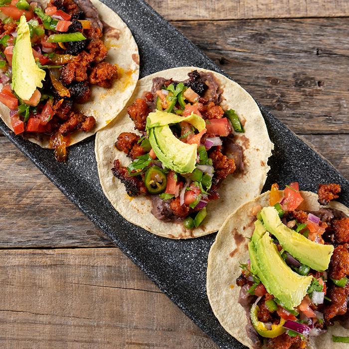 Chorizo & Pork Tacos Recipe