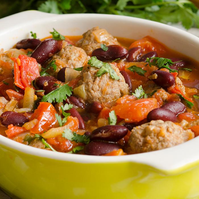 Crock Pot Longaniza & Beans Recipe