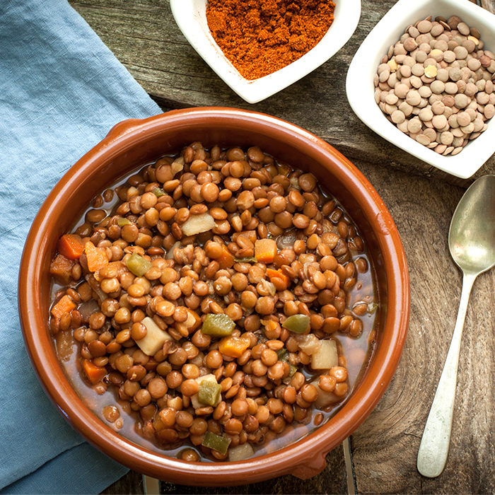 Chorizo & Lentil Soup Recipe