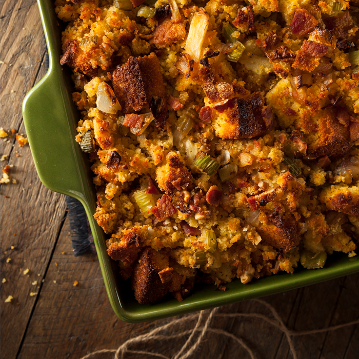Mommas Chorizo Cornbread Stuffing Recipe