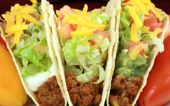 El Popular Pork Chorizo Taco Recipe