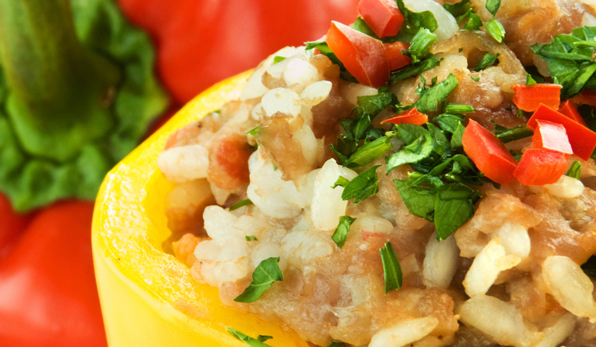 El Popular Chorizo Stuffed Peppers Recipe
