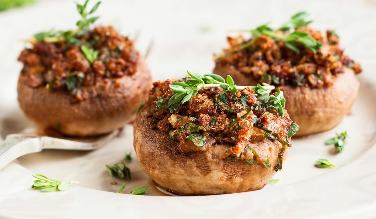 El Popular Stuffed Chorizo Mushrooms Recipe