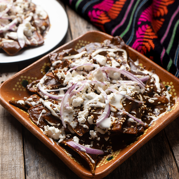 Mole Chilaquiles Recipe