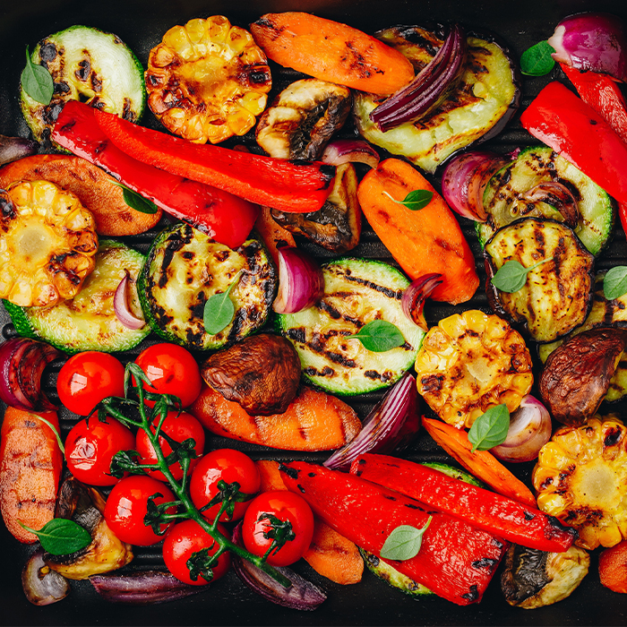 Pan Roasted Vegetables with Mole Recipe