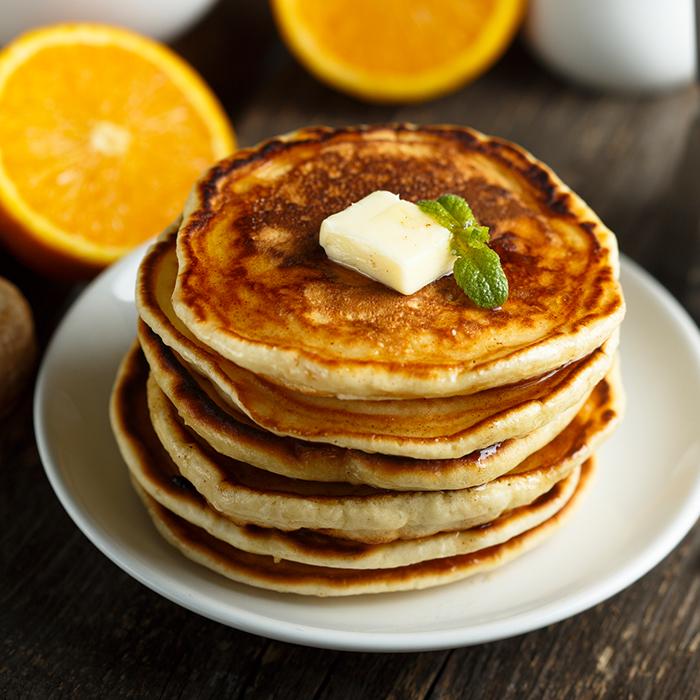 Chorizo-bit Pancakes recipe