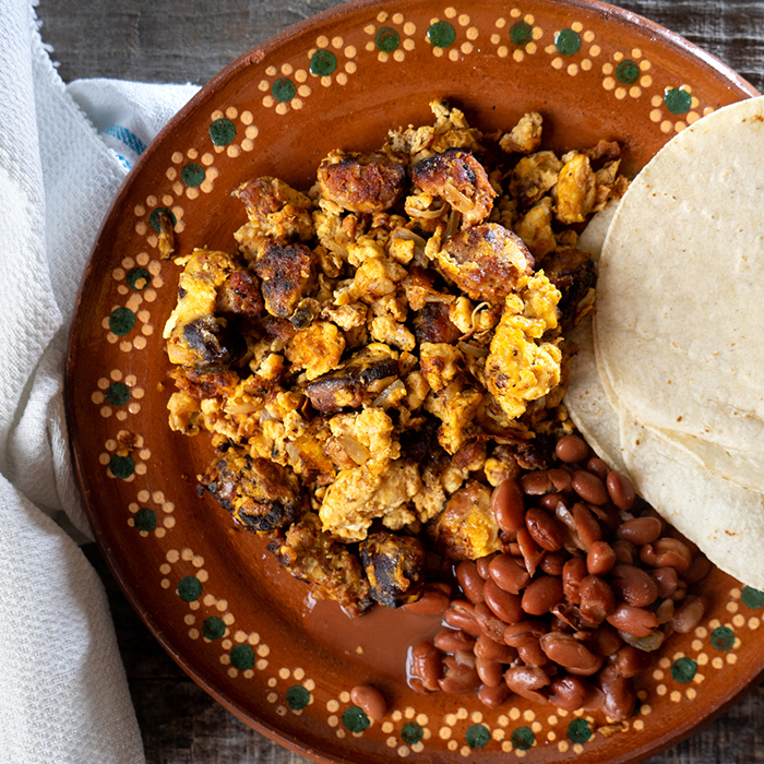 Chorizo & Huevos recipe