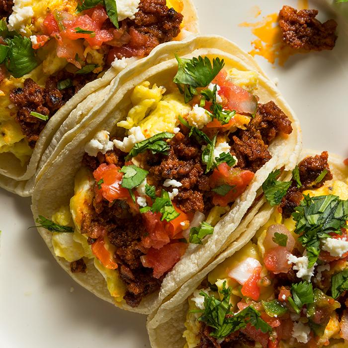 Good Mañana Breakfast Tacos recipe