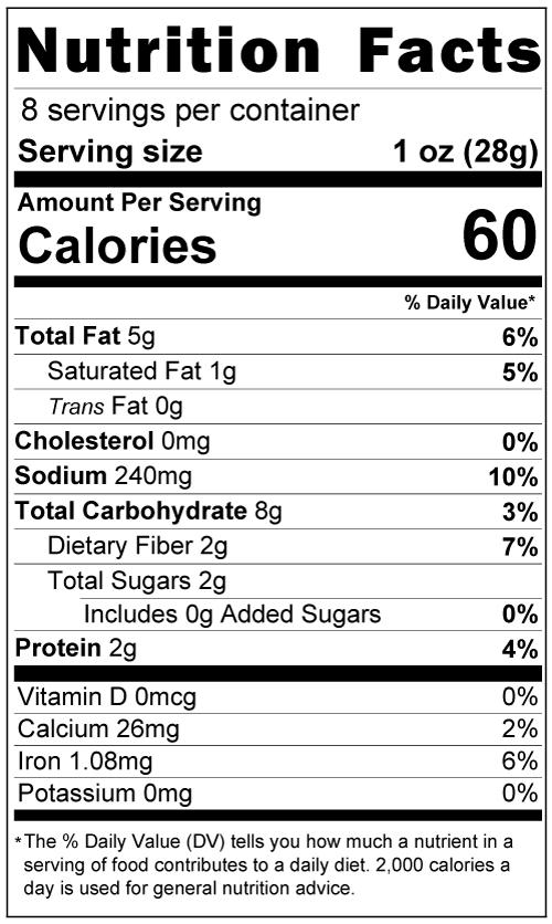 Mole Paste Nutrition Facts