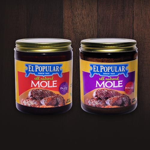 El Popular Mole Paste and Powder