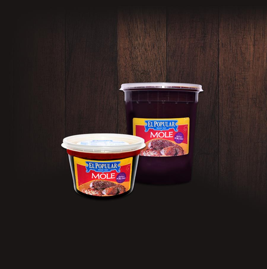 El Popular Mole Paste Tub Set