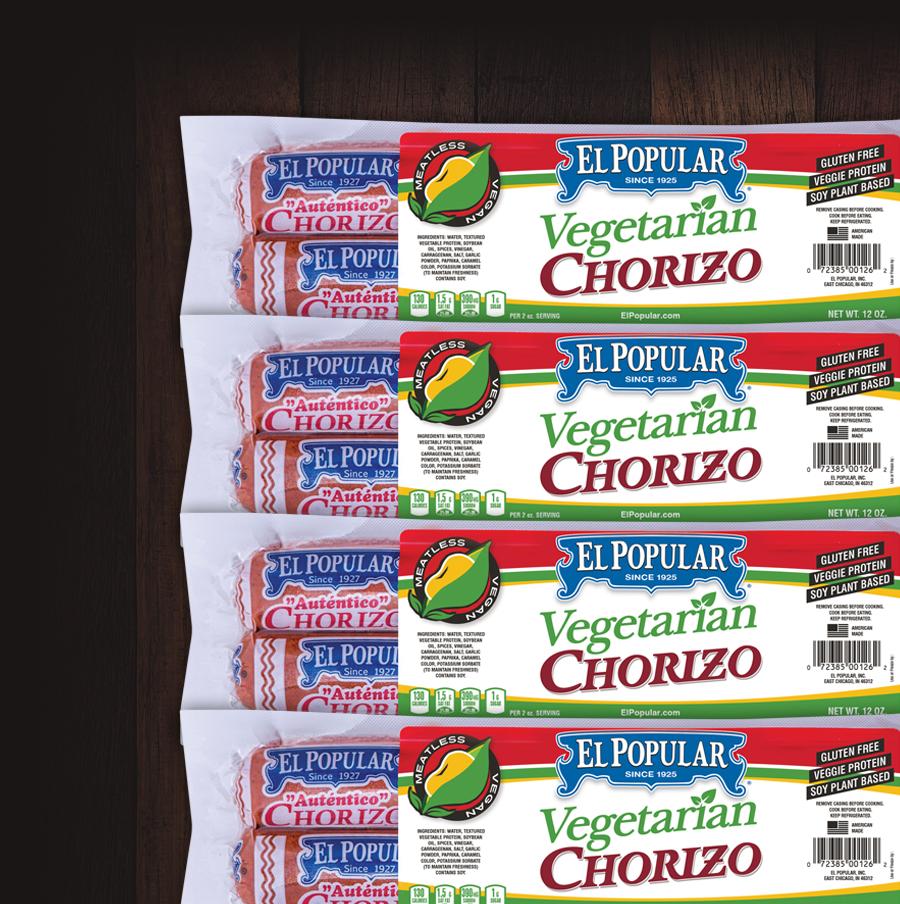El Popular Signature Vegetarian Chorizo