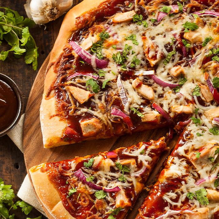 Loco Buena Mole Pizza recipe